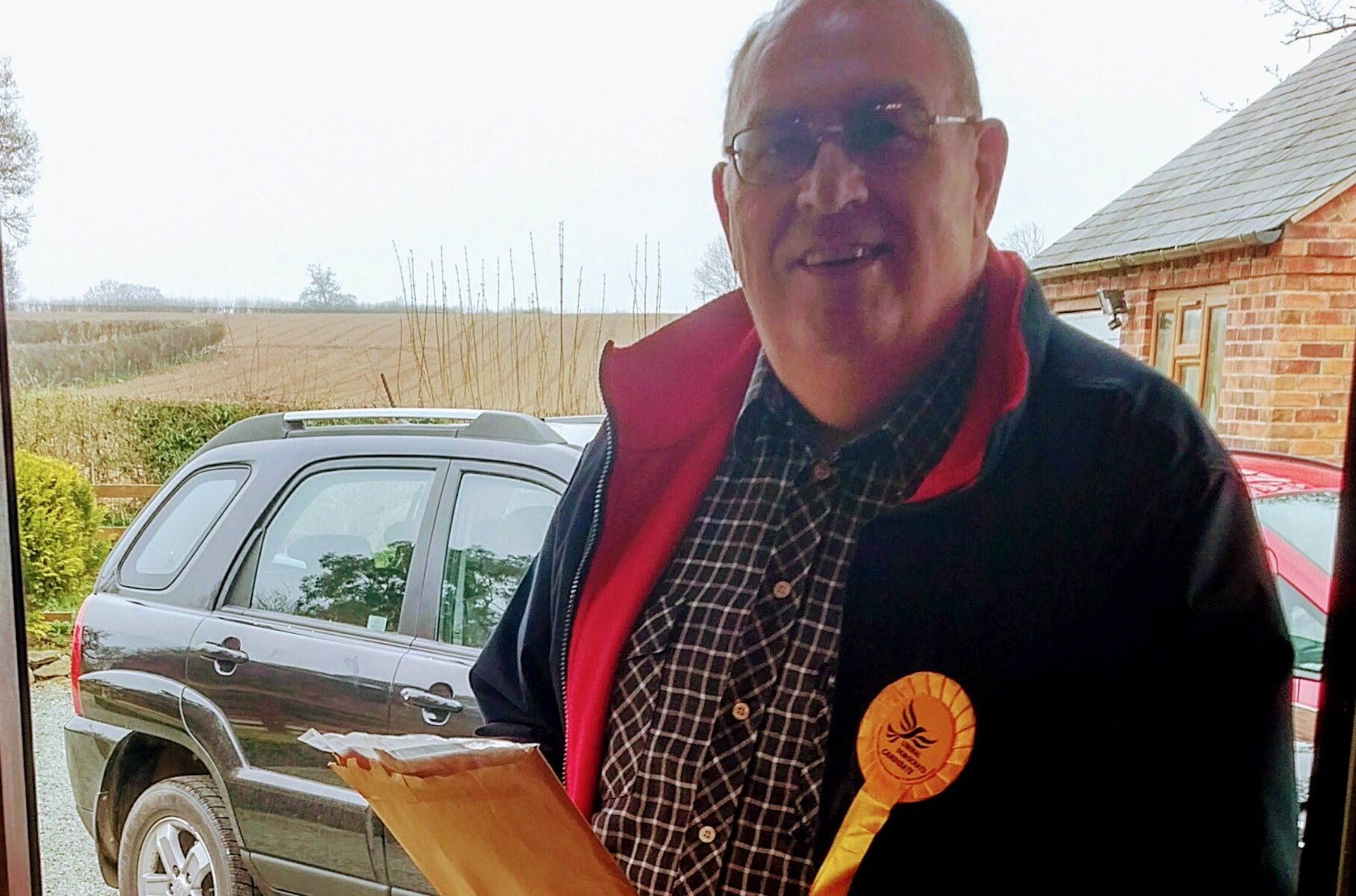 Liberal Democrat canvassing in North Shropshire