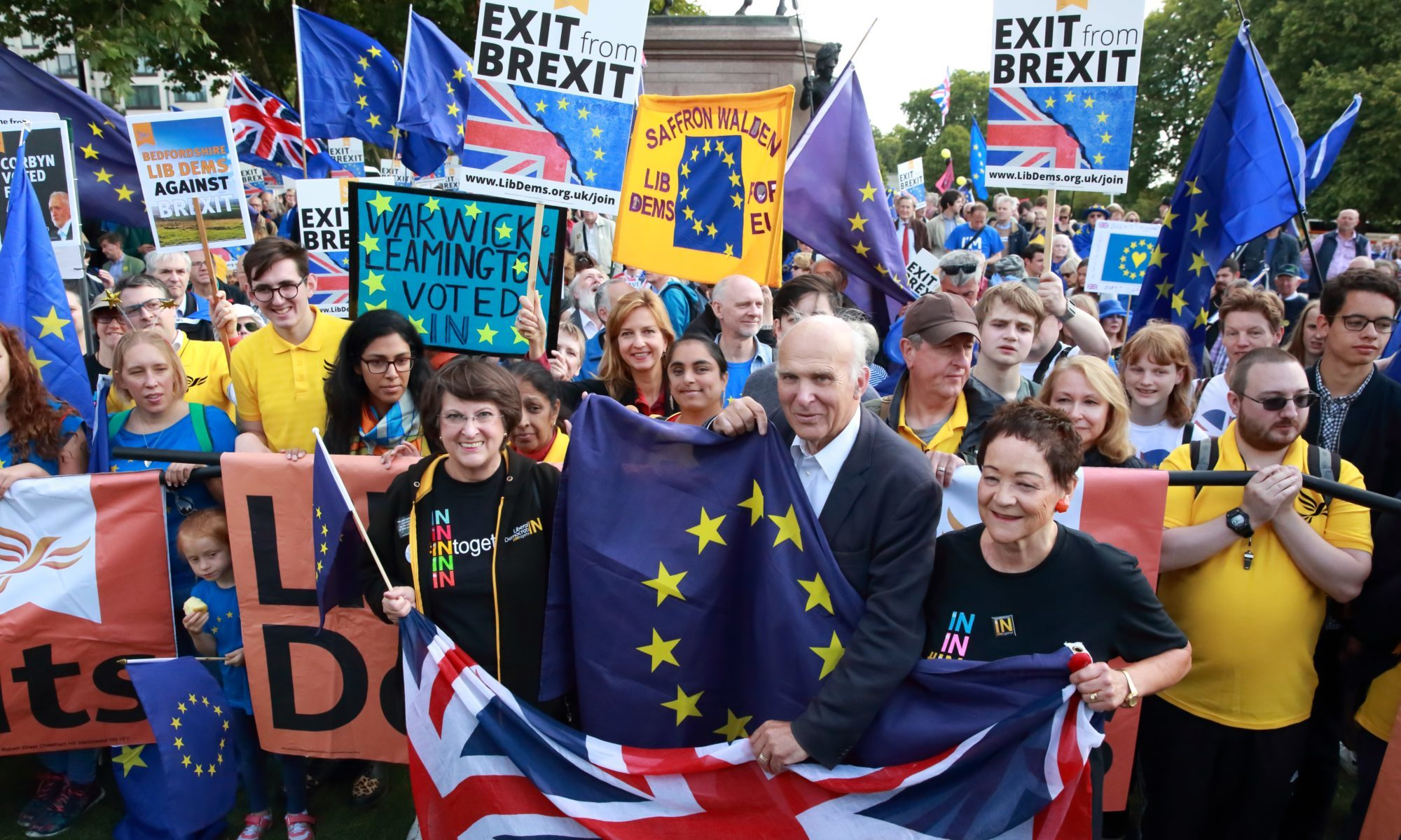Vince Cable and Liberal Democrats on Europe March 2017