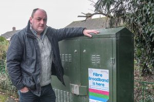 David Walker Campaigning for faster and more reliable broadband