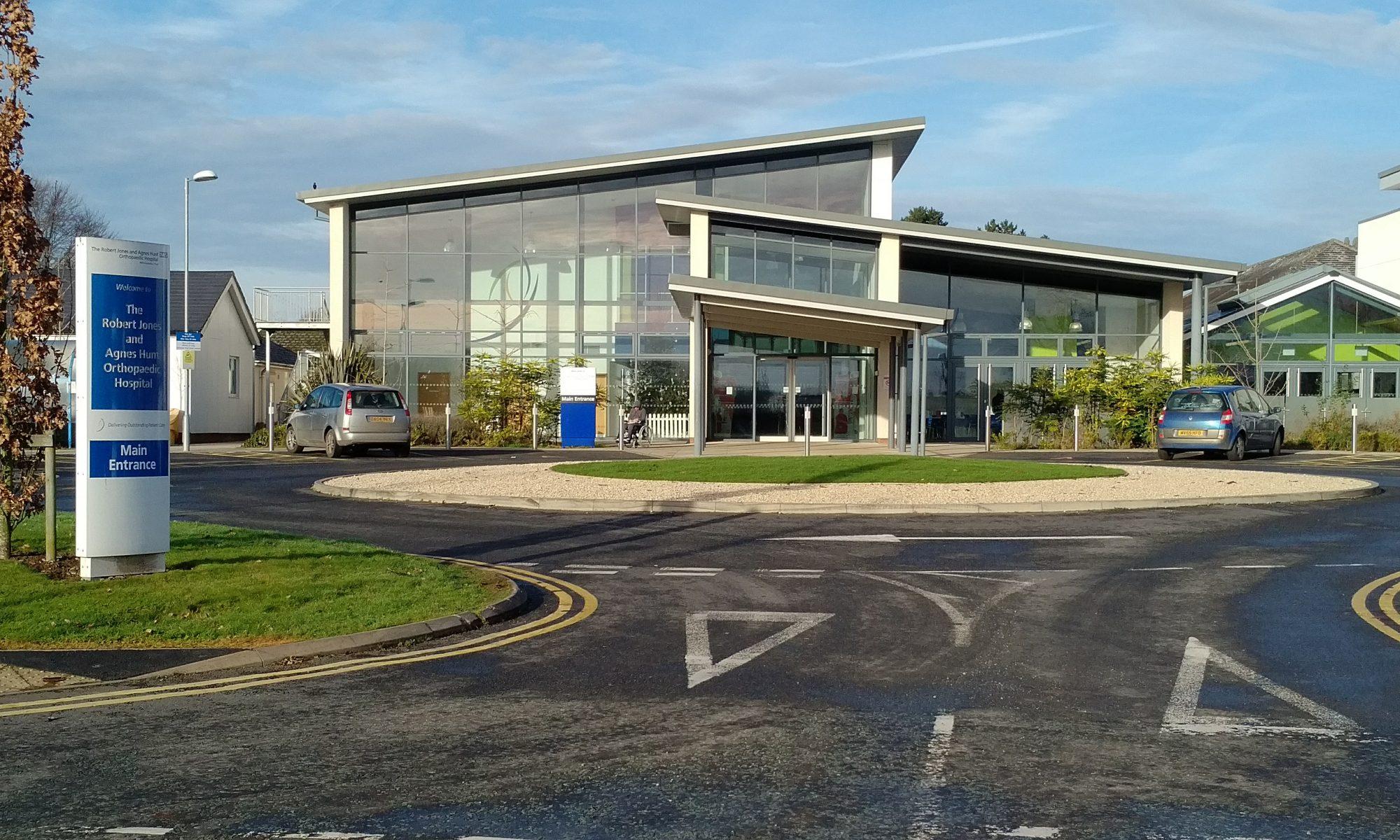NHS & Social Care: Orthopaedic Hospital in Gobowen