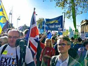 Many Lib Dems from across Shropshire and North Shropshire in particular joined the 700,000 demanding a final say