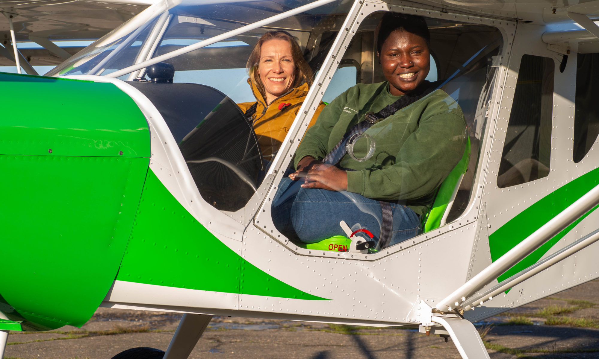 Helen Morgan learns how North Shropshire aviation firm Metal Seagulls inspires women of all ages