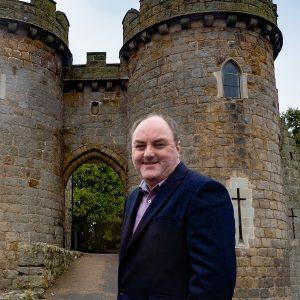 David Walker fighting for Whittington & West Felton